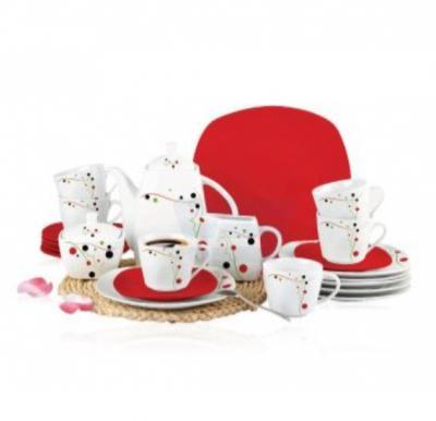 Flamingo Porcelain Tea Set 24 PCS - FL7718PTS