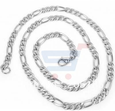 Stainless Steel figaro Chain Necklace For Men