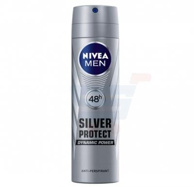 NIVEA Deo Silver Protect Spray For Men 150 ML