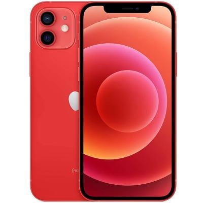 Apple iPhone 12 With FaceTime Red, 256GB Storage, 5G
