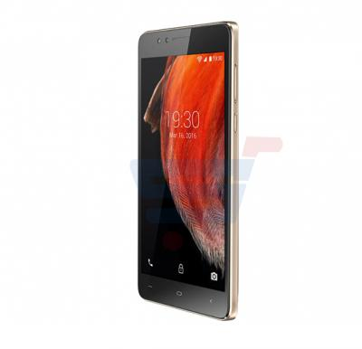 Xtouch E2 Smartphone,Android 5.1,5.5 Inch Display,1GB RAM,8GB Storage,Dual Camera,Dual Sim,Wifi-Gold