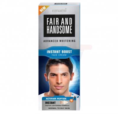 Emami Fair & Handsome Instant Boost Fairness Cream 50Gm
