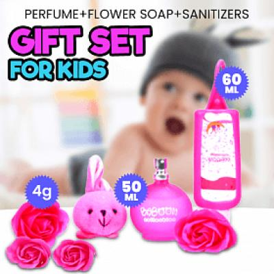 Baboon Perfume Flower Set, 50ml