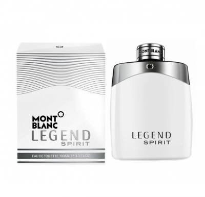 Mont Blanc Legend Spirit  Edt 100ml Spy Perfume For Men