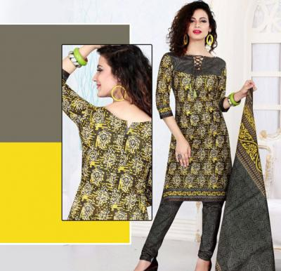 Ruby 404 Cotton Salwar Kameez Dress Material