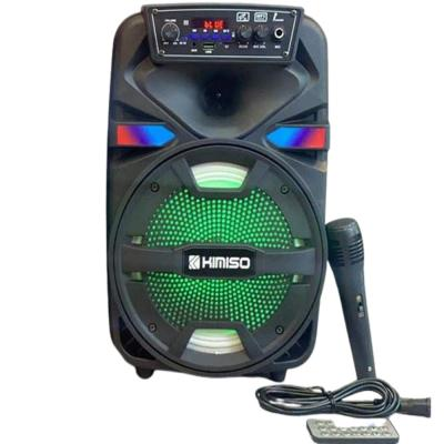 Kimiso karaoke bluetooth speaker with remote and MIKEReseller 750php Speaker, QS-4810