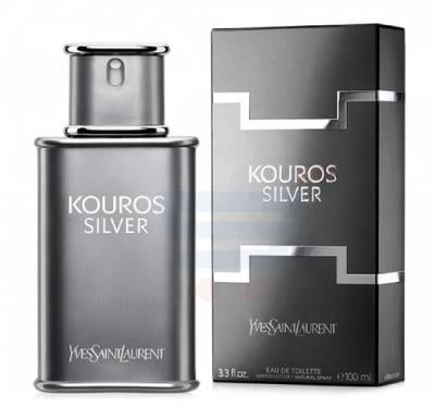 Ysl Kouros Silver Edt 100ml For Men