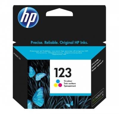 HP F6V16AE 123 Ink Cartridge Tri Color