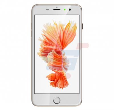 Xplay iPh7 Plus Smartphone,4G LTE,Android 6.0 OS,5.5 Inch HD Display,3GB RAM,32GB Storage,Dual SIM,Dual Camera,Quad Core 2.0 Ghz  Processor-Gold