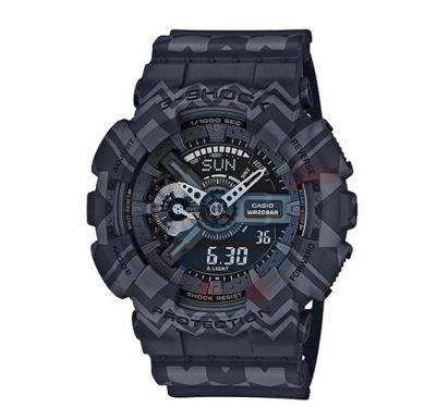 Casio G Shock GA-110TP-1ADR Watch For Men Magnetic Resistant-Black