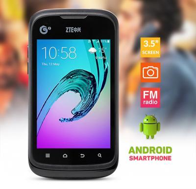 ZTE U790 3.5 inch, Android 2.3 Capacitive Screen Smart Phone, MTK6515 ,Black