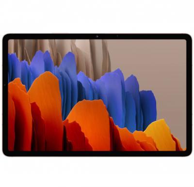 Samsung Galaxy Tab S7 11-Inch, 6GB RAM, 128GB, Wi-Fi, 4G LTE, Mystic Bronze