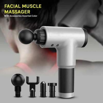 Facial Muscle Massager With Accessories Assorted Color