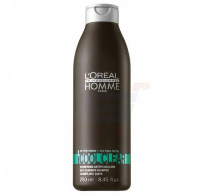 Loreal Homme Cool Clear Anti-Dandruff Shampoo 250ML