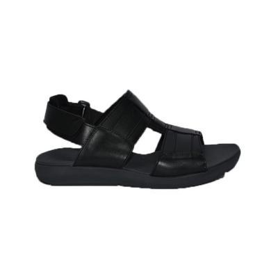 Hush Puppies Mens Sandals Black Leather, Size 11, HM01822-007