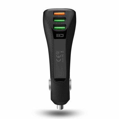 Bluedigit 2+1 Smart Quick Car charger - SC011Q