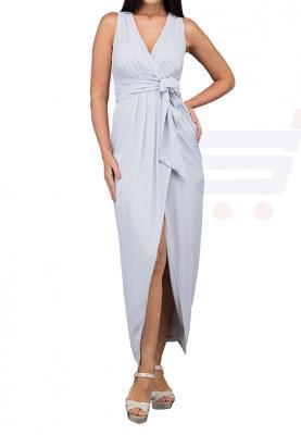 TFNC London Dixie Maxi Dress Grey - CTT 23370 - XL