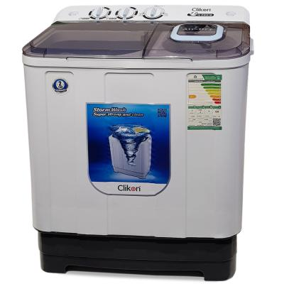 Clikon Semi Automatic Washing Machine,7kg,Ck616