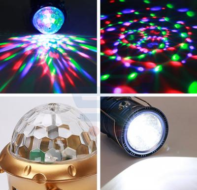 Multifunctional Color LED Camping Lamp