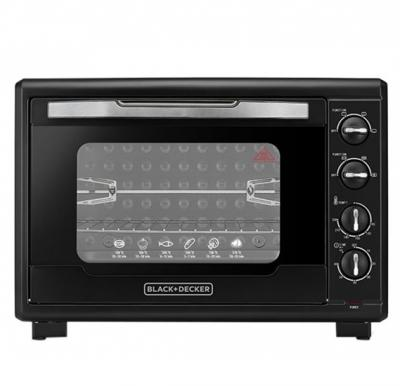 Black and Decker-55L Double Glass Toaster Oven,TRO55RDG-B5