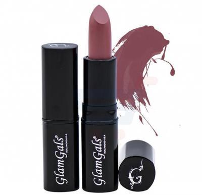 GlamGals Glossy Lipstick Brown - LPG19
