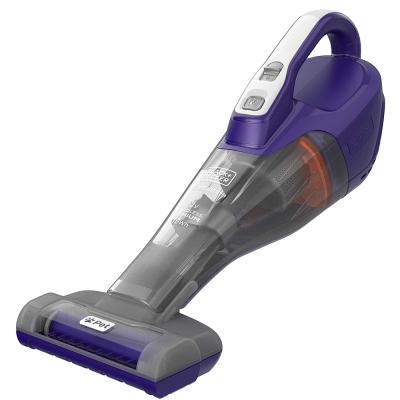 Black and Decker DVB315JP-GB 12v Cordless Pet Vacuum Cleaner, Purple