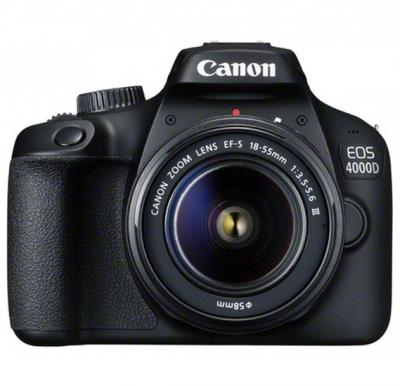 Canon EOS 4000D DSLR Camera With EF-S 18-55mm Lens Kit