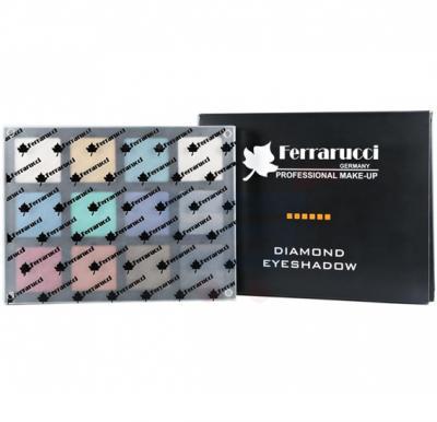 Ferrarucci Diamond Eye Shadow 54g, Multi Color