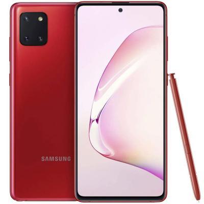 Samsung Galaxy Note10 Lite Dual Sim 8GB RAM 128GB 4G LTE, Aura Red