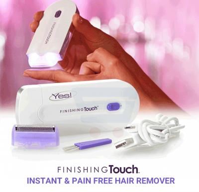 Finishing Touch Instant & Pain Free Hair Remover, 07470