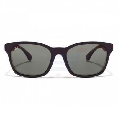 Ray-Ban Wayfarer Black Frame & Grey-Green Mirrored Sunglasses For Unisex - 0RB4197l-601-9A