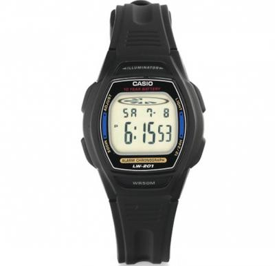 Casio Resin Band Watch For Women, LW-201-2AVDF