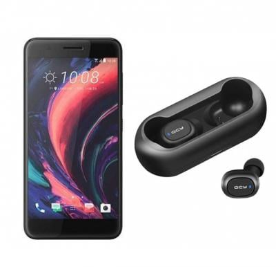 2 In 1 Htc One X10 32gb-Black With Free Qcy Ear Buds