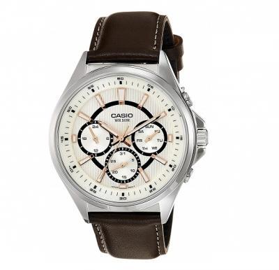 Casio Enticer MTP-E303L-7AVDF Analog White Dial Men Watch