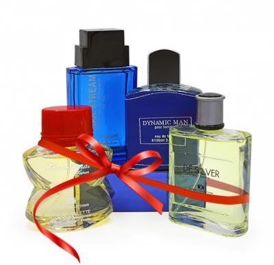 4 In 1 Bundle Offer Nabil Al Suwaidi Dynamic + De Silver Perfume + Cosmic Sensational EDT + Platinum Cool Stream - 100 Ml Each