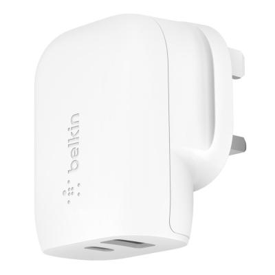 Belkin Boost Charge 30W USB C PD USB A Wall Charger USB C to Lightning Cable