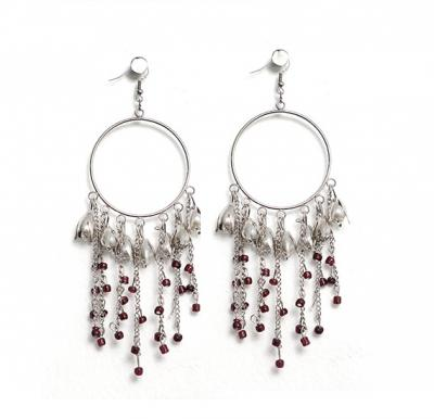Hanging Bead Earing Collection for Ladies, Assorted Color