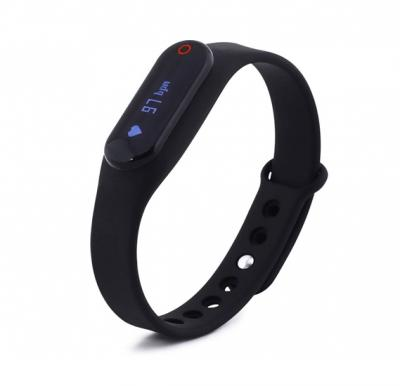 Fitmate Z2 Fitness Tracker With Heart Rate Monitor-Black