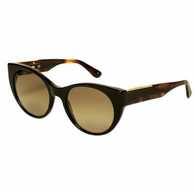 Lacoste L913S Black Cat Eye Sunglasses For Women Gray Lens, Size 53