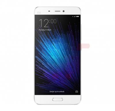 Xiaomi Mi 5 Smartphone,Android OS, 5.15 inch Display, 3GB RAM, 64GB Storage, Fingerprint Sensor and Buttons, Dual SIM, Dual Camera- White