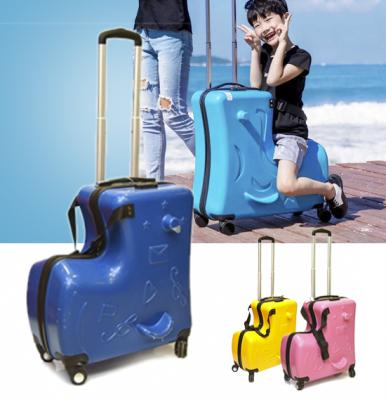 Trolley Bag with Baby seater S81137 Blue