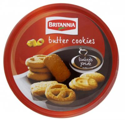Bakers Pride Butter Cookies Tin 400gm, 119749-1