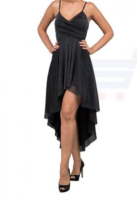 WAL G Italy Glitter Party  Party Dress Black - WG 7132 - XXL
