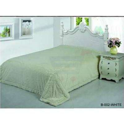 Senoures Classic Blanket Single 160X220CM - B-002 White