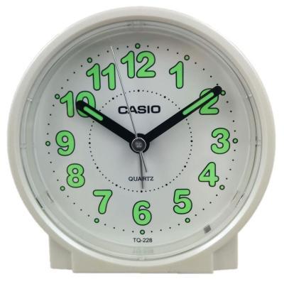 Casio Round Alarm Clock, TQ-228-7DF