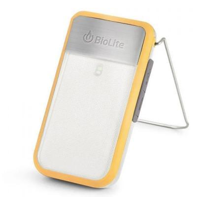 BioLite Power Light Mini Wearable Light and Power Bank, Yellow
