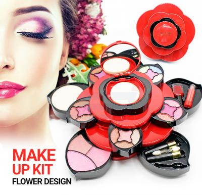 Make Up Kit Set Flower Design For Beauty Fancy Collection Art No.356
