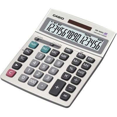 Casio 16-digit Calculator Tax Dual DM1600B