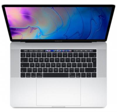 MacBook Pro 15 Touch Bar & Touch ID 2018 – Core i7 2.2GHz 16GB 256GB 4GB 15.4inch Silver English, MR962B/A