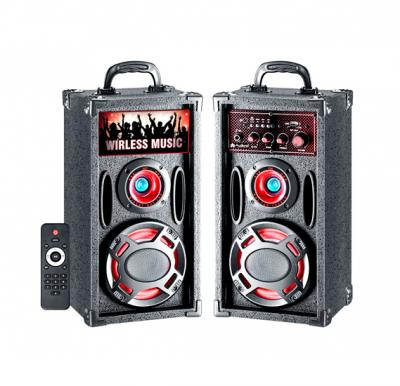 Audionic BT-150 Classic Wireless 2.0 Channel Speaker,USB or SD/MMC Card Support,Bulit-in FM Radio